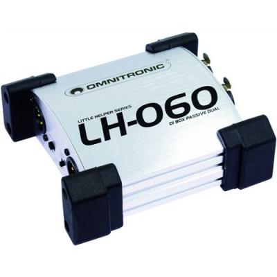 DI-box Omnitronic LH-060 pasivní stereo