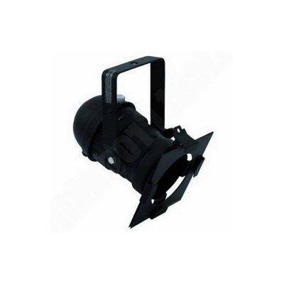 Eurolite PAR 36 černý, krátký spot – 100W