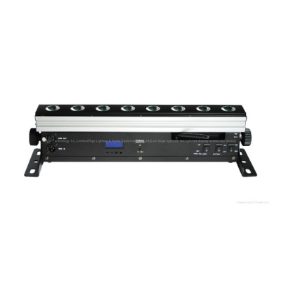 LED statická bateriová – LED BAR RGBW 8x10W Ribega