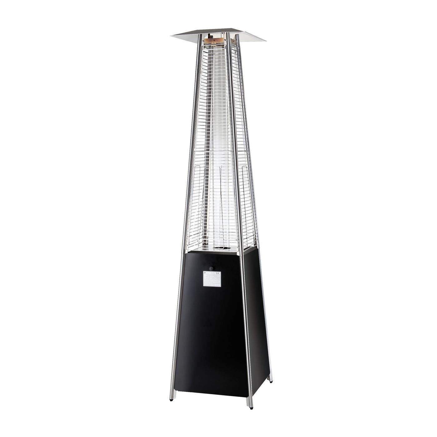 Plynový ohřívač pyramida 10,5kW černá