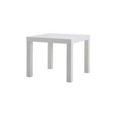 Stolek bílý IKEA 50x50cm