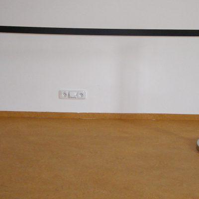 Vymezovač prostoru černá páska 3m