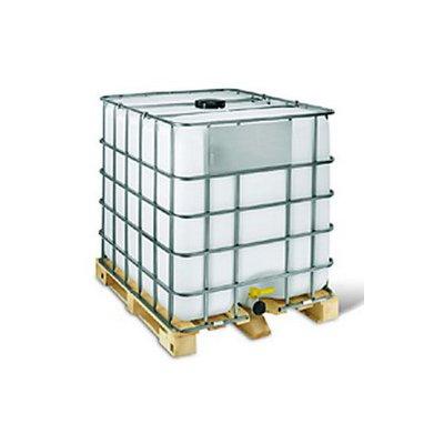 Zátěž 1000 kg – plastová nádrž na vodu 1m³