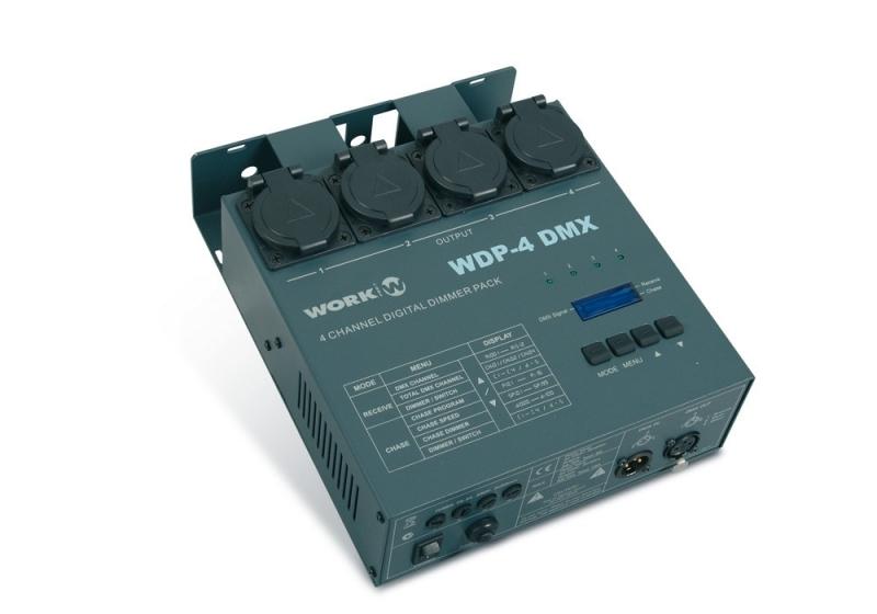 Stmívač WDP-4 DMX