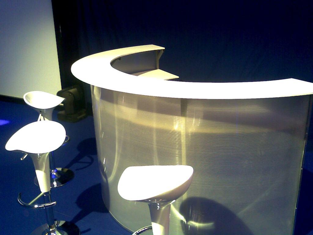 Plexibar půlkruh 2m