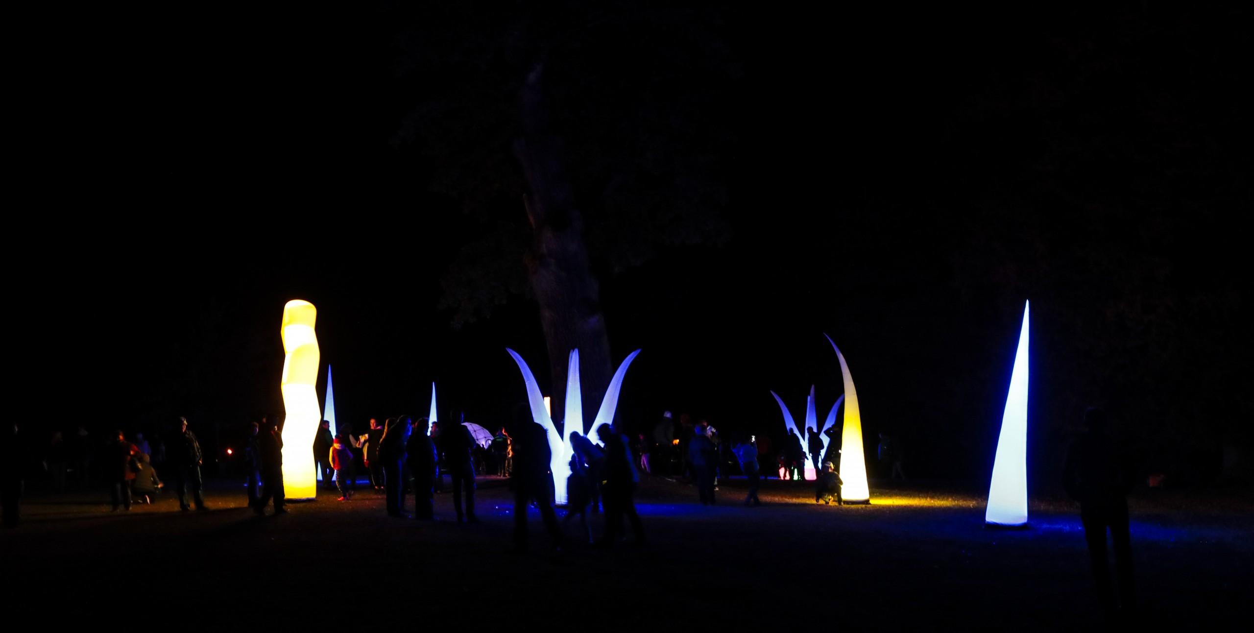 Vlašim žije - Světla v parku