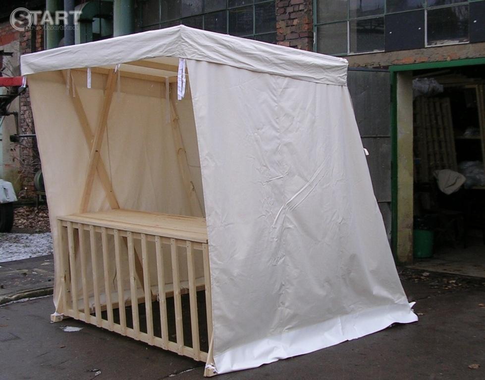 Prodejní stánek dřevěný 2x2m