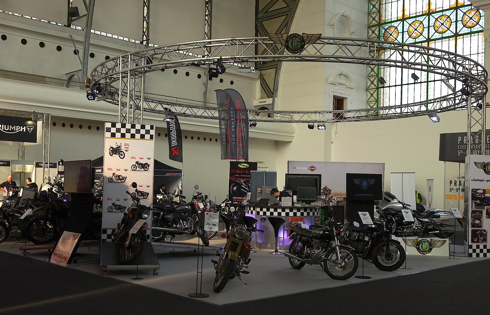 motocykl výstaviště Praha