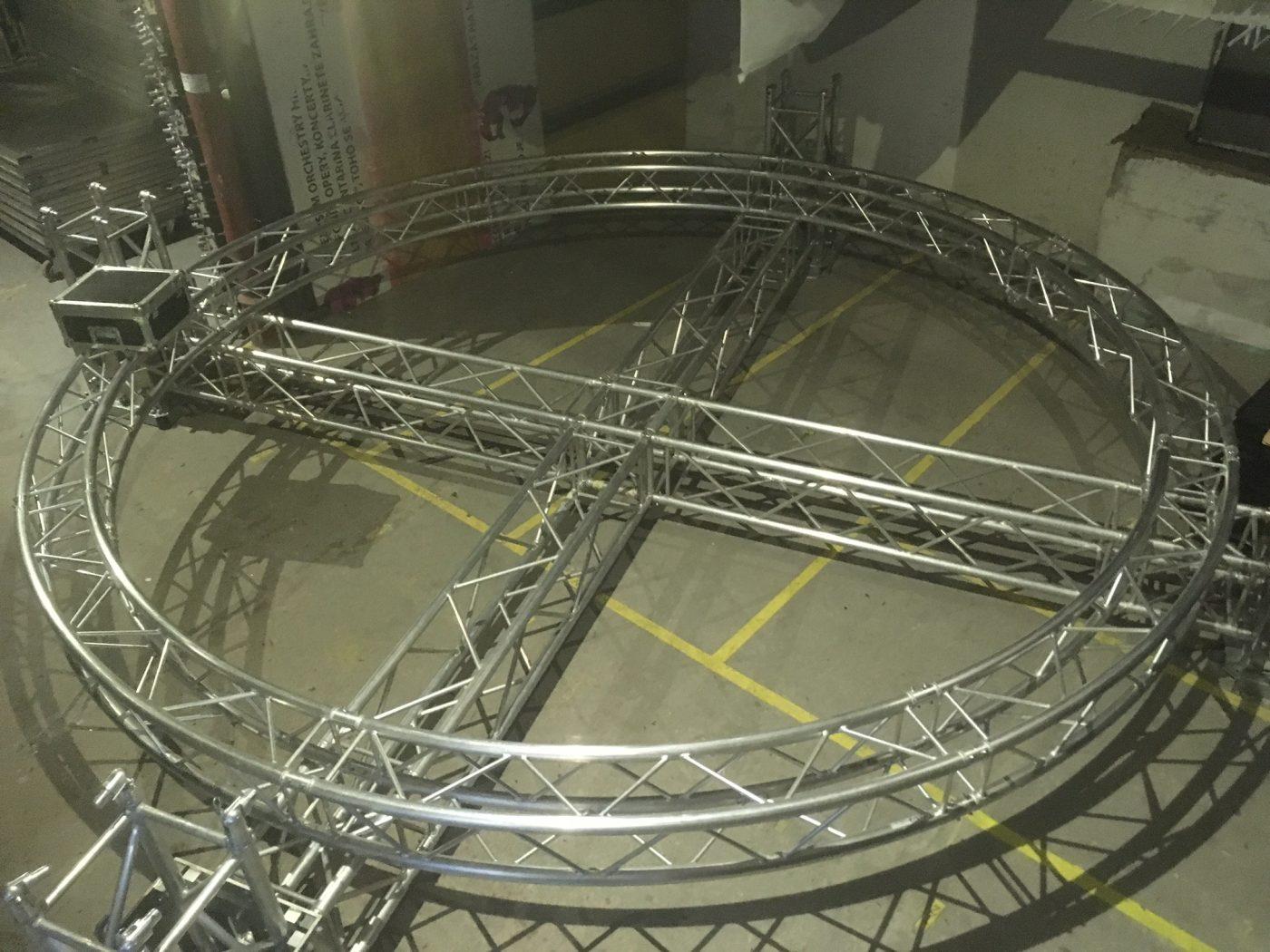 kruhový truss 5m
