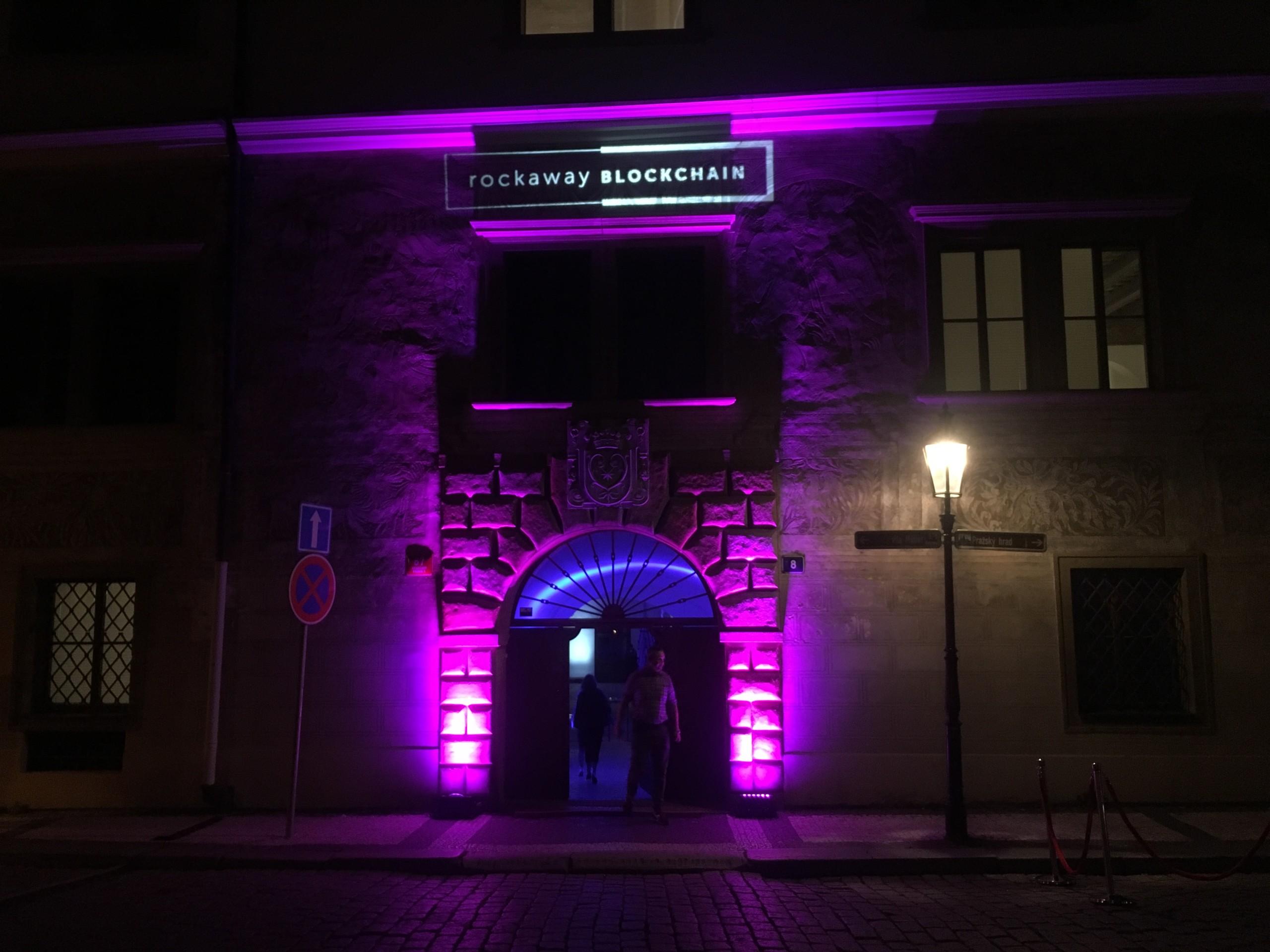 Blockchain night Martinický palác