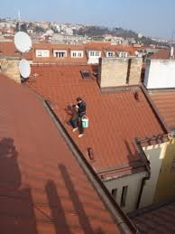 čištění okapů Praha