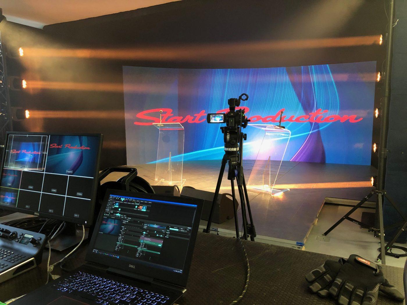 virtuální studio Startproduction – pronájem Praha