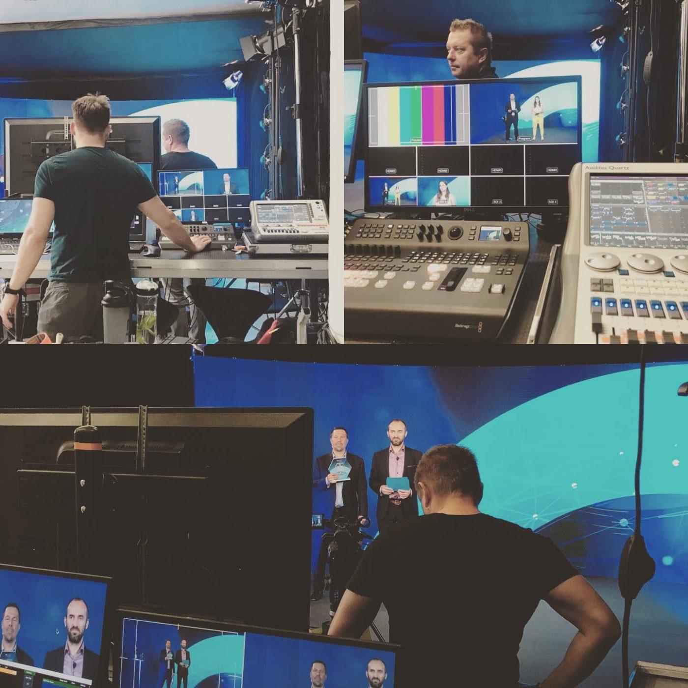 technické zajištění streamu – virtuální studio Praha