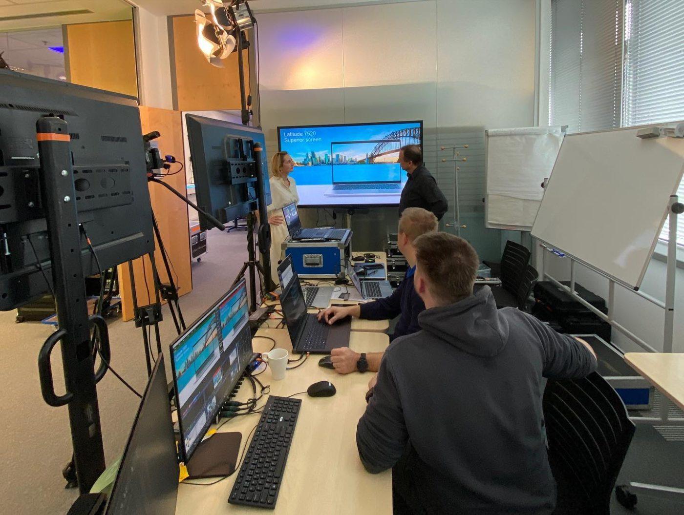 mobilní studio na stream Dell